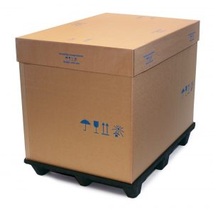 Palettencontainer Wellpappe Nordpack Gmbh
